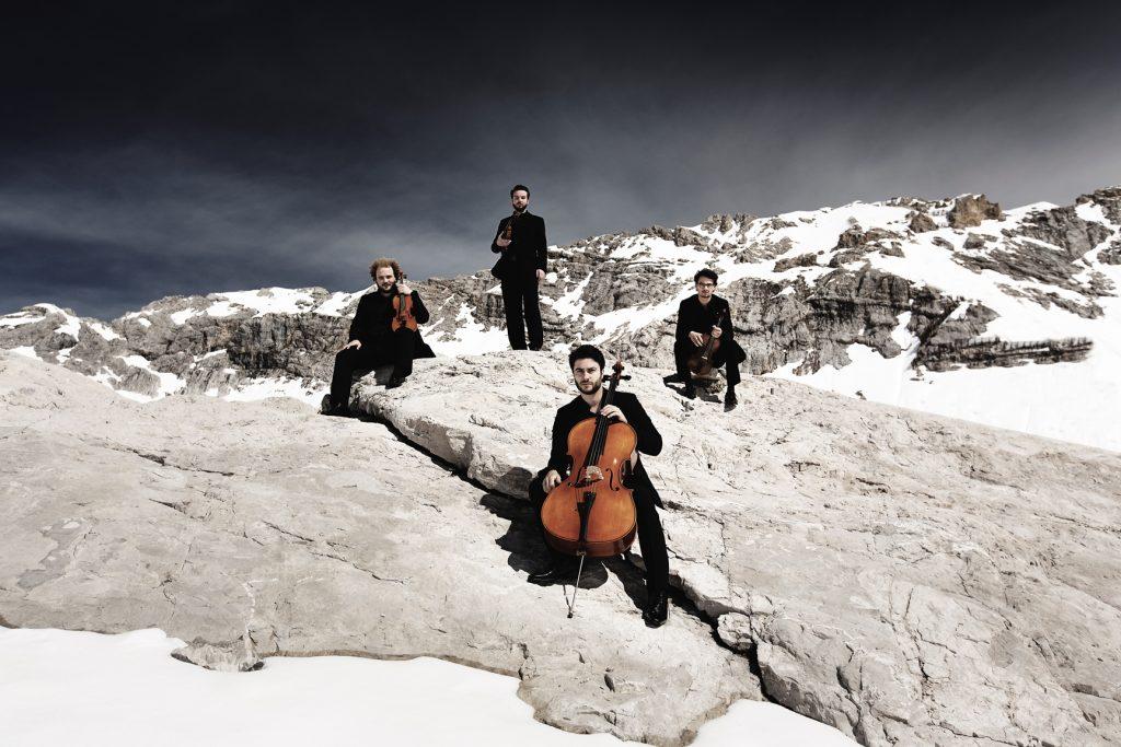Goldmund Quartett Foto by Nicolai Lund