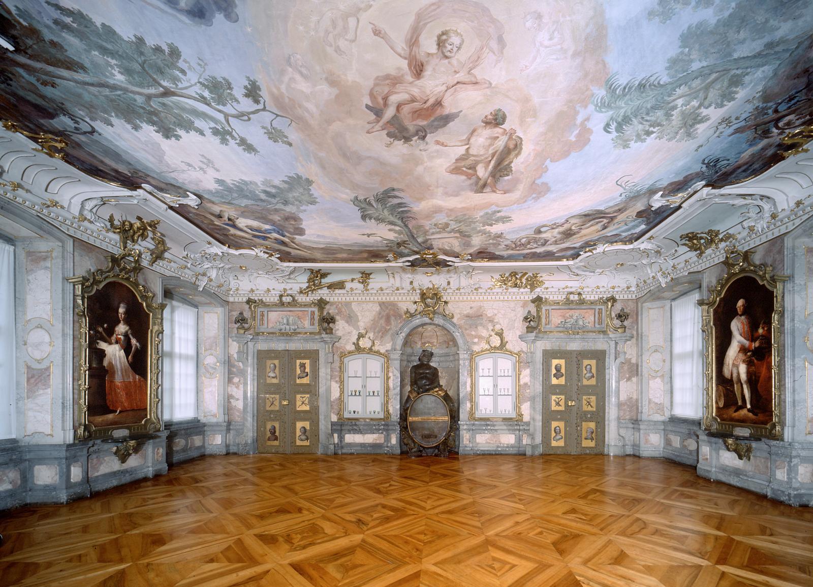 Neues Schloss Tettnang | Bacchussaal