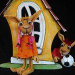 Kindertheater: Eiersalat bei Familie Klopfer
