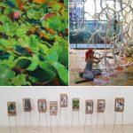 """Vernissage zur Ausstellung """"Bin im Garten"""""""