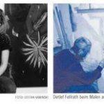 Malerei mit Transparenz und Dialog zum öffentlichen Raum